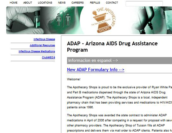 Arizona AIDS Drug Assistance Program
