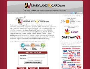 Maryland Rx Assistance Programs - State Rx Plans