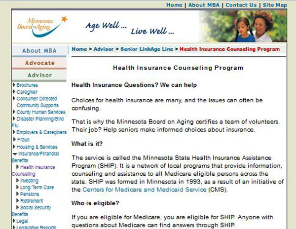 Minnesota State Health Insurance Assistance Program