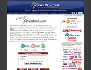 Nevada Drug Card