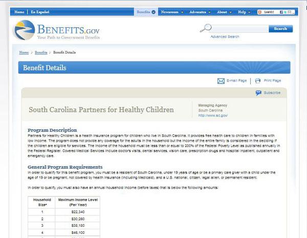 South Carolina Assistance Programs - State Rx Plans