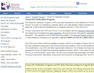 Texas AIDS Drug Assistance Program