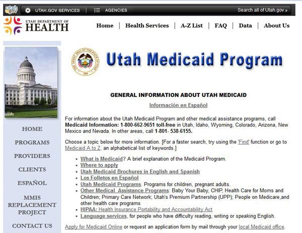 Utah Assistance Programs State Rx Plans
